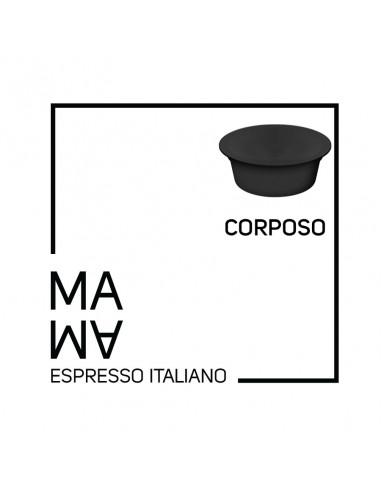 MAMA Espresso - CORPOSO - Caffè in Capsule Compatibili Lavazza™ A Modo Mio - 96 capsule